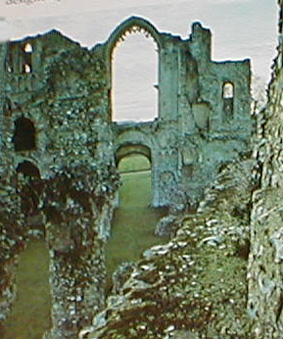 Remains of Castle Acre Priory, Norfolk.