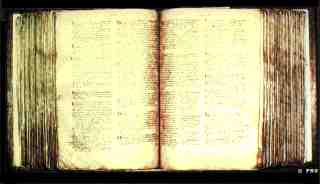 Domesday Book, one of two volumes