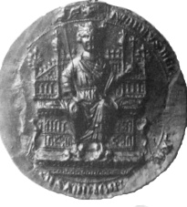 From Edward I's great seal