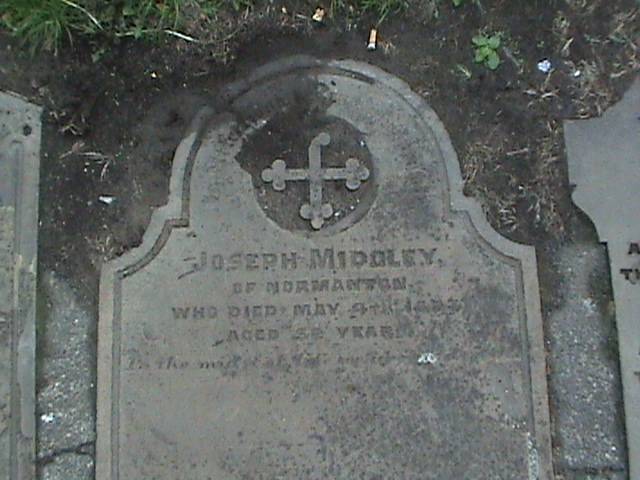 Joseph Midgley died 1873
