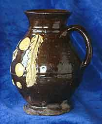 Example of a jug from Wrenthorpe