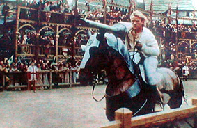 A Scene from A Knight's Tale