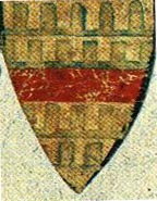 Coat of Arms for Wyllem Marmyim, 1280 with vair pattern.