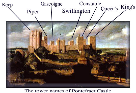 The Towers of Pontefract Castle