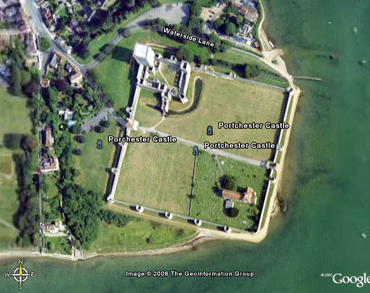 Portchester Aerial view