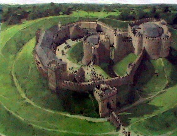 Sandal Castle impression
