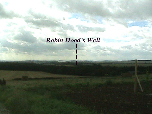Lookout to Robin Hood's Well