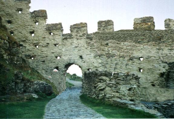 Tintagel gateway with some image reconstruction