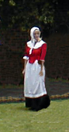 English country dancer of 1600-1700's