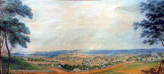 Parramatta from the west 1819
